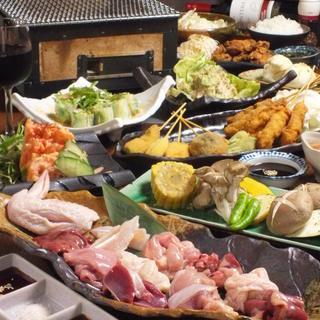 朝引きの京丹波鶏を使った鶏焼き専門店♪