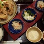 天ぷら壹鐡 米蔵 - (2016/01/01)鳥から揚げ定食