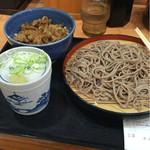 そば処 吉野家 - 料理写真:欲張りセット