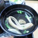 鰻専門店 愛川 - 肝吸い