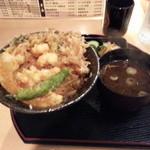 天勢 - お昼用かき揚丼