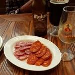 ラ ボデガ - イベリコ豚なサラミとチョリソーの盛りS