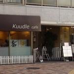 Kuudle cafe - 交差点角の控え目なお店