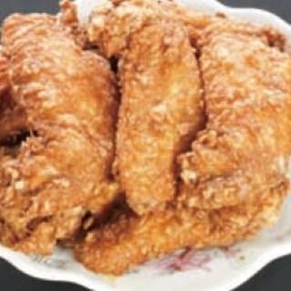 千休 - 料理写真:若鶏唐揚げ