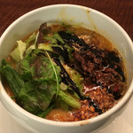 46237567 - 「ヘーゼルナッツ風味の特製TANTAN麺セット」1500円のTANTAN麺
