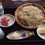 蕎陶庵 - せいろそば ¥720