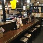 扇屋 - この日は偶々なのか先客は無く、店内は静かな状態でした