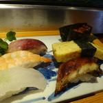 ふじ吉 - 寿司アップ1