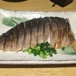 もつ 串焼き 二子5丁目酒場 - しめ鯖♡美味しかった!