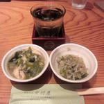 中村屋 - 日本酒とお通し