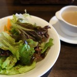 BACIO - サラダ&スープ(パスタ・デザートセット)