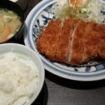 とんかつ浜勝 長崎時津店 - 150gの肉