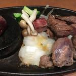 四季菜々 - 山形牛の角切りステーキ