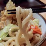 玉喜亭 - 肉天うどん(610円)