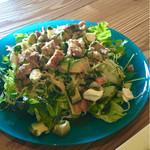 ヒゲ カフェ - 料理写真:cobb salad