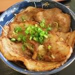 地産レストラン 上里プリンス - ・「姫豚丼(\960)」のアップ。