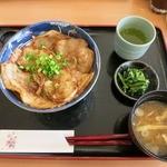 地産レストラン 上里プリンス - ・「姫豚丼(\960)」