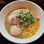 麺屋33 - 濃厚味噌ポタ麺(中盛)