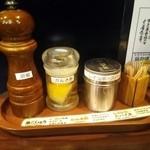 すごい煮干ラーメン凪 - 味変調味料
