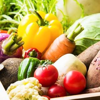 安心安全な野菜とお肉ににこだわっています!