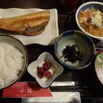 小紋 - 日替り定食\840(16-01)