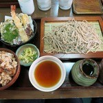 福寿庵本店 - ・「福寿定食(\1350)」