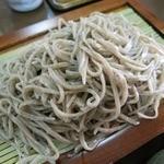 福寿庵本店 - ・「福寿定食(\1350)」のそばアップ。