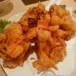 海鮮料理魚春とと屋 - 海鮮かき揚げ
