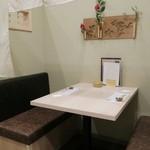 浜焼き鯖と挽きぐるみ蕎麦 きばり - テーブル席☆彡