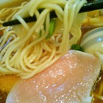 麺屋 正路 - 特製鶏と鰹の中華そば(アップ)