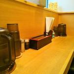 麺屋 正路 - カウンター