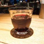 46248717 - ランチセット 1000円 の赤ワイン