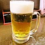 一番亭 - 生ビール