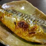 漁料理 やまね - 焼き塩さば