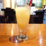 46250410 - ランチセット 1000円 のグレープフルーツジュース