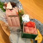 ととや - 鮮魚5点盛 3人前 2016.1