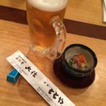 ととや - 生ビールとお通し 2016.1