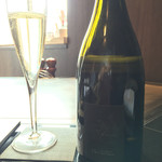 TEPPAN DINING 集 - 先ずはシャンパン\(^o^)/