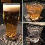 46252426 - 生ビール・東風の梅・茜霧島