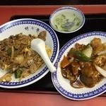 46253759 - 酢豚&スタミナ丼セット