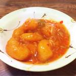 味の食彩館 - 定食のエビチリ