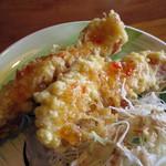 熱帯食堂 - 今日ののっけごはん≪パッガパオムーサップ≫(スイートチリソースをかけたガイトート)