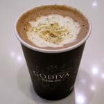 ゴディバ - ホットショコリキサー ミルクチョコレート プラリネトリュフ(\570)