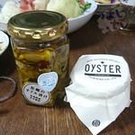 46255867 - 牡蠣のクニヒロの「牡蠣のオイル漬け」 1450円
