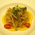 チャイニーズ 芹菜 - クラゲの和え物 750円