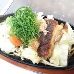 元三茶屋寛蔵 - 料理写真:本日のお肉のランチのひとこま☺