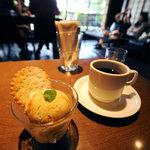 DADA CAFE - 森のコーヒーとキャラメルアイス