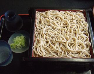 蕎麦・料理 籔半 - せいろ蕎麦(地物粉麺)