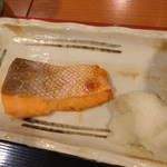 tonkatsumaisen - まい泉定食990円の焼き魚