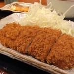 tonkatsumaisen - まい泉定食990円